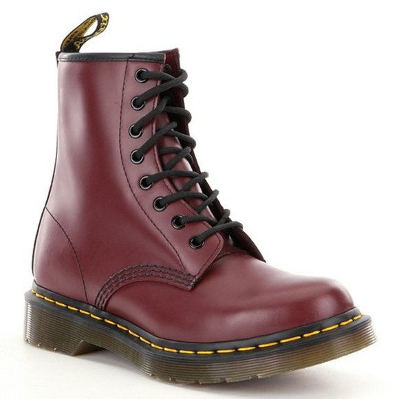 Dr. Martens Shoes - 🔥🔥Dr Martens 1460 cherry red women boots👢